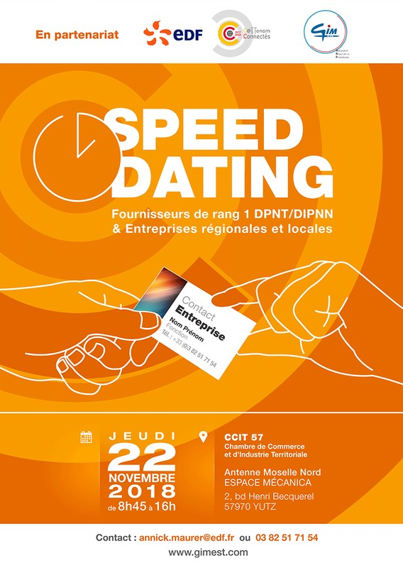 Speed dating @ CCIT